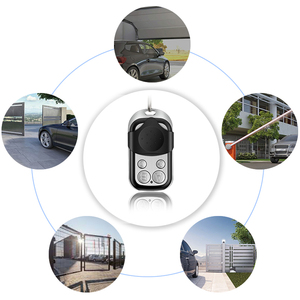 Image 4 - 4 Channel Cloning Garage Door Remote Control Gate Control Barrier 433.92MHZ Fixed Code Remotes Command