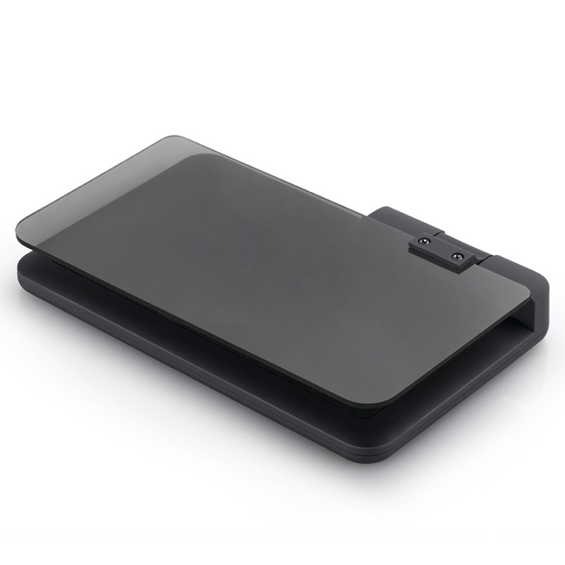 Vehicle HUD Smartphone Holder Mount for iPhone Android Phones Bysameyee Universal Car Dash Mount Cell Phone Holder Reflective Film HUD Navigation Head-up Display GPS Navigation H6