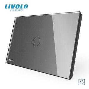 Image 4 - Livolo Muur Schakelaar, Deurbel Ring Switch, Glass Panel, Us Standard Touch Screen Lichtschakelaar, met Led Indicator