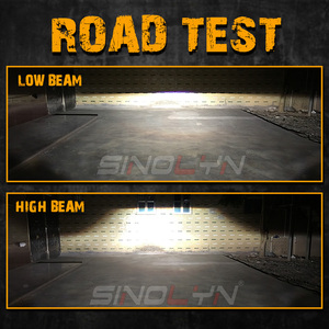 Image 5 - Sinolyn światła przeciwmgielne dla Toyota Camry/Corolla/RAV4/Yaris/Auris/Highlander Bi reflektor ksenonowy obiektyw H11 D2H ukryta żarówka akcesoria DIY