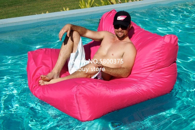 Large Size Water Floating Bean Bag Chair Made Of 420D Oxford-PVC Material 4