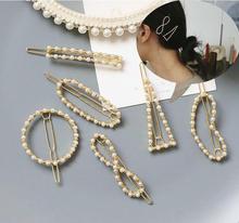 Fashion Korean Womens pearl hairclips Girls Shinning Hairpins Hairgrips Hair Accessories barrettes Crystal Rhinestone headwear мур у ледяная страна кн 10 мур у