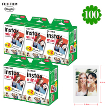 Фотоальбом для Fujifilm Instax Mini квадратная пленка Instax mini 9 8 для камеры Polaroid Fujifilm Instax Mini 7s 10-200 Shee