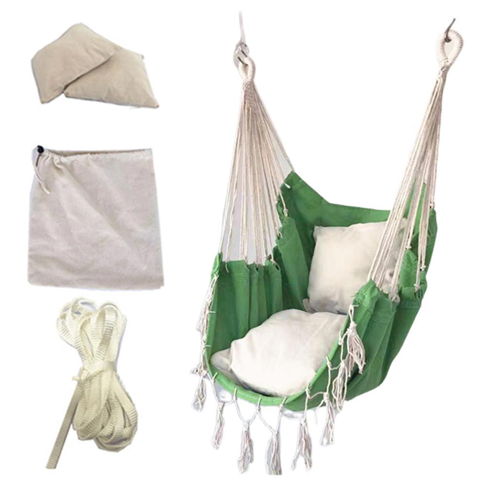 Garden Swinging Hanging Chair Cushion Outdoor Furniture Swing Chair Hammocks Canvas Dormitory Swing Hammock Camping Courtyard Cushion Aliexpress