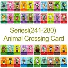 Amiibo Card Ns Game Serie 3 (241 Tot 280) Animal Crossing Kaart Werken Voor