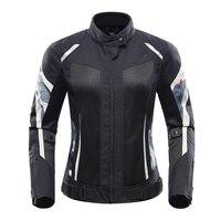 Motorcycle female jacket motobike riding jacket windproof protective armor clothing for Triumph Aprilia Ducati Yamaha kawasaki