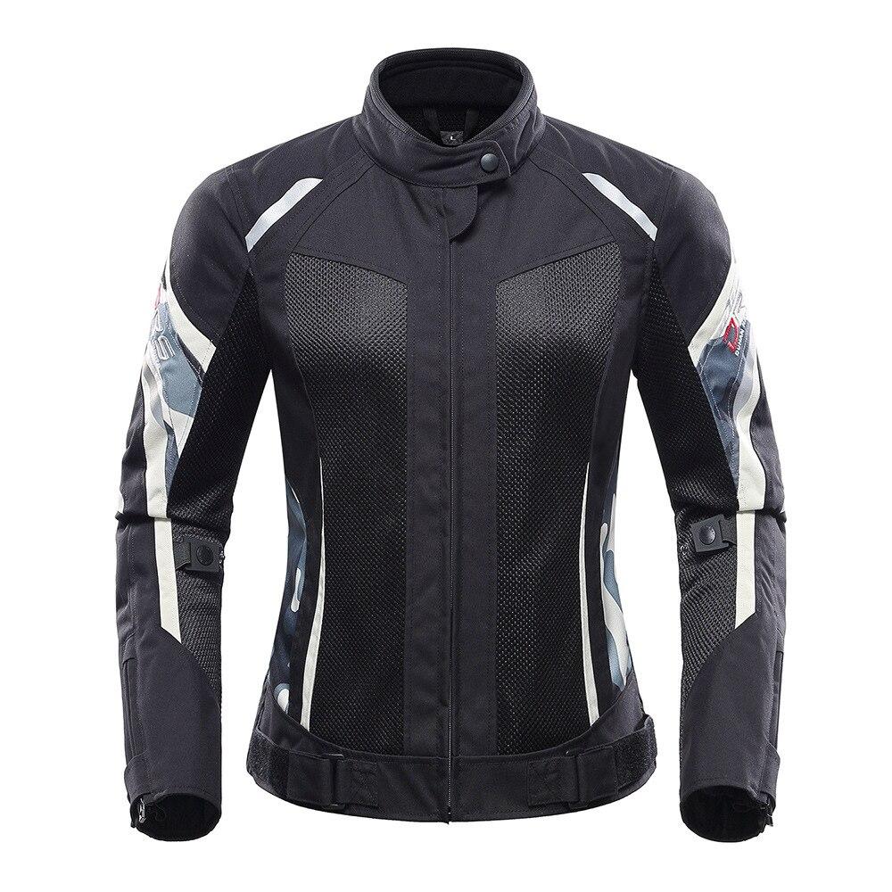 Veste moto femme veste moto équitation coupe-vent protection armure vêtements pour Triumph Aprilia Ducati Yamaha kawasaki