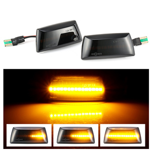 For Opel Insignia Astra H Corsa D Zafira B For Chevrolet Cruze Led Dynamic Side Marker Turn Signal Light Sequential Blinker Lamp(China)