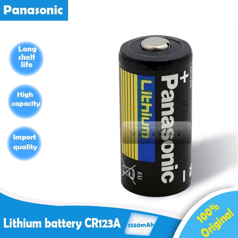 1 шт. новая Оригинальная литиевая батарея Panasonic 3 В 1550 мАч CR123 CR 123A CR17345 16340 cr123a сухая Первичная батарея для измерителя камеры