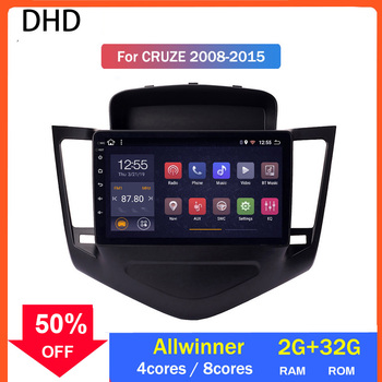 2.5D + IPS Android 10,0 Car Radio reproductor Multimedia para Chevrolet Cruze 2009-2013 Unidad de navegación Gps Allwinner procesador