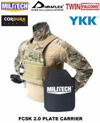 Militaire TW FCSK 2.0 Multicam   Porte-plaque CQC Ferro, gilet tactique de Combat militaire, armure corporelle de Police