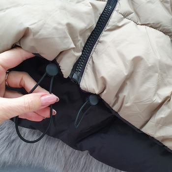 Autumn Winter New Women Vintage Black Jacket Coat Fashion Double Sided Warm Sleeveless Outerwear Female Casual Short Cotton Tops 5
