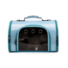 Travel Bubble Shoulder Bag Pet Puppy Carriers Mesh Breathable Carrier for Cat Dog 517D