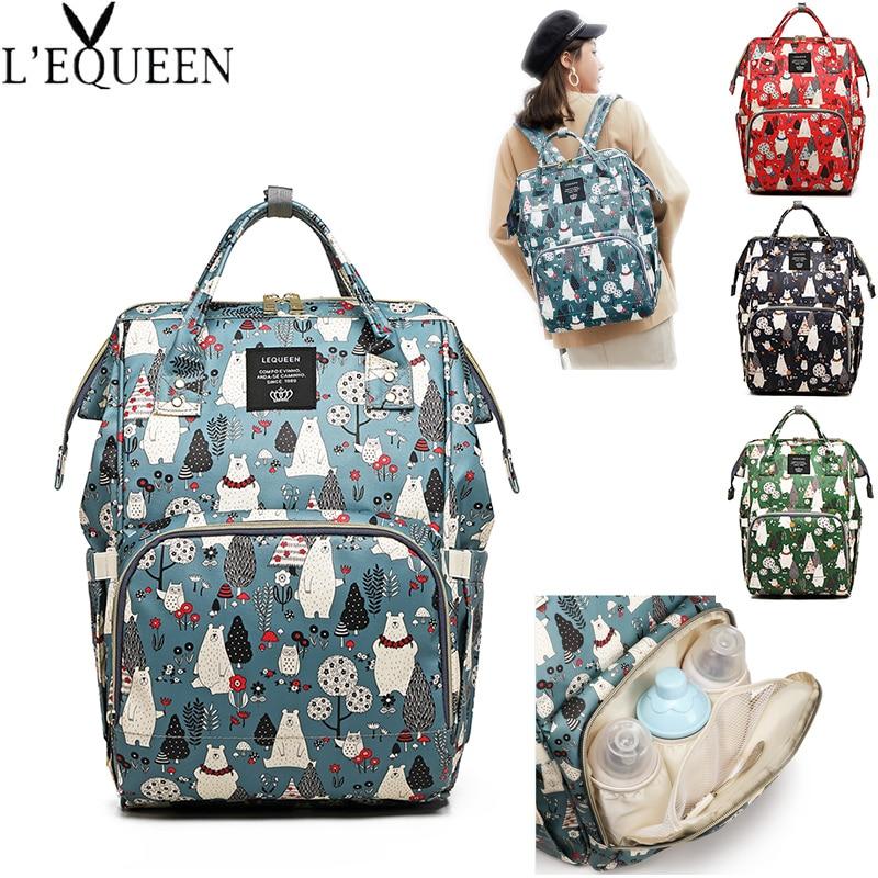 Multifunctional Diaper Bag Mummy Bag Large Capacity Baby Bag Travel Backpack Maternity Bag Nursing Handbag Baby Care Bag