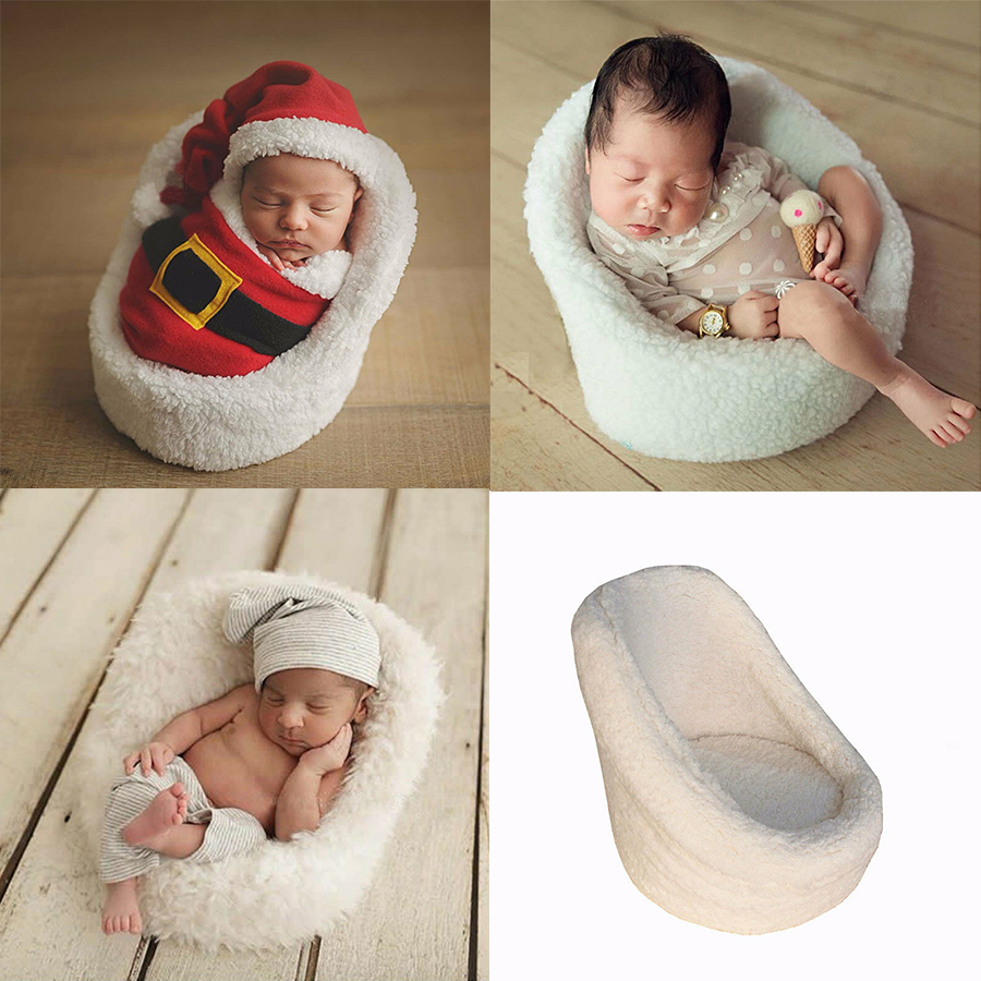 New Arrival Photography Baby Chair Soft Feeling Baby Seat Photography Studio Baby Sofa Plush Baby Sofa Chair Photography Props