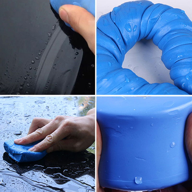 100g Car Wash Clay Car Cleaning Detailing Blue Magic Clay Auto Car Clean Clay Bar Mini Handheld Car Washer