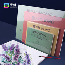 Professional 300g Artist Watercolor Paper 100% Cotton Transfer Water Color Portable Travel Sketchbook Drawing Art Supplies