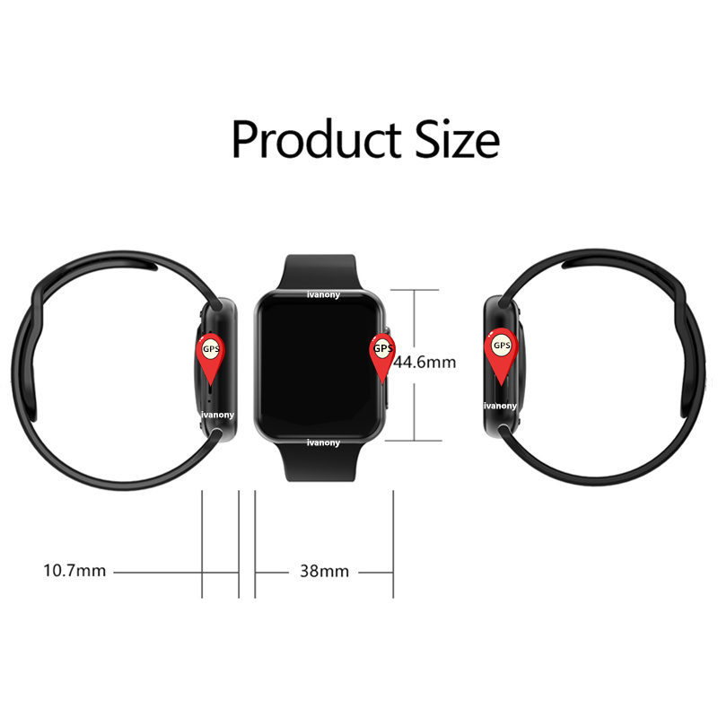 IWO 9 Bluetooth Smart Watch Series 4 1:1 Heart Rate GPS Tracker Sports Smartwatch For Iphone Samsung Fast Ship for Dropshipping - 2
