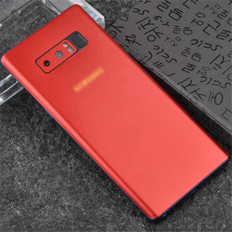 Film arrière pour téléphone portable Samsung note8 9 résistant aux rayures film de glace ultra-mince recouvert d'autocollants de film protecteur