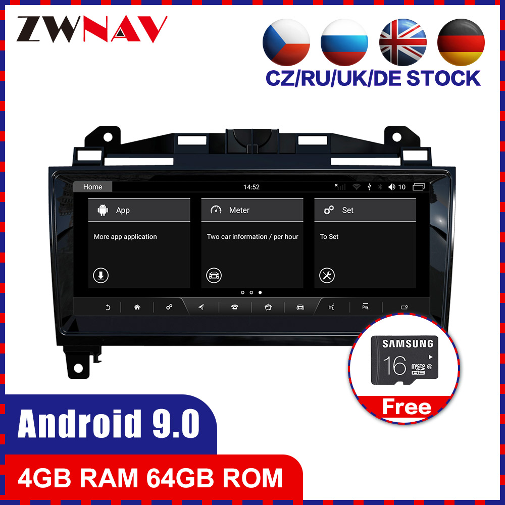<font><b>Android</b></font> 9,0 Auto-Multimedia-player <font><b>F</b></font>ür Jaguar <font><b>F</b></font>-Typ FType SVR 2013-2020 auto radio stereo GPS WiFi BT navi touchscreen image