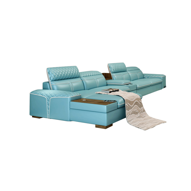 Luxury  L Shape Sofa w/ Corner Storage 1