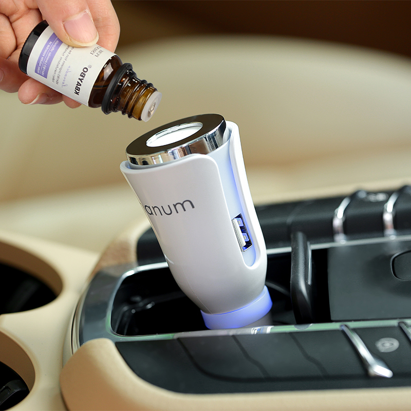 Aromatherapy Car Aroma Diffuser Car Mat Diffuser With Dual Power USB And Car Charger