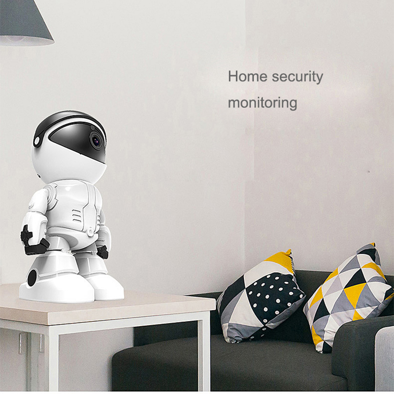 Wireless Robot Camera WIFI IP CCTV Cam Baby Monitor Support P2P Remote Surveillance HD H.264 IR Night Vision for Android or IOS 5