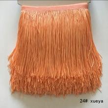 20M/Lot 15cm Wide Lace Fringe Trim Tassel Fringe Trimming DIY Latin Dress Stage Clothes Accessories Lace Ribbon gold fringe trim fringe cami dress