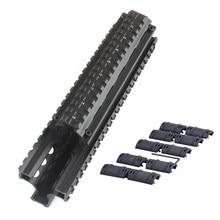 Fal tático sistema de montagem de quatro trilhos handguard MNT-T981 alumínio handguards