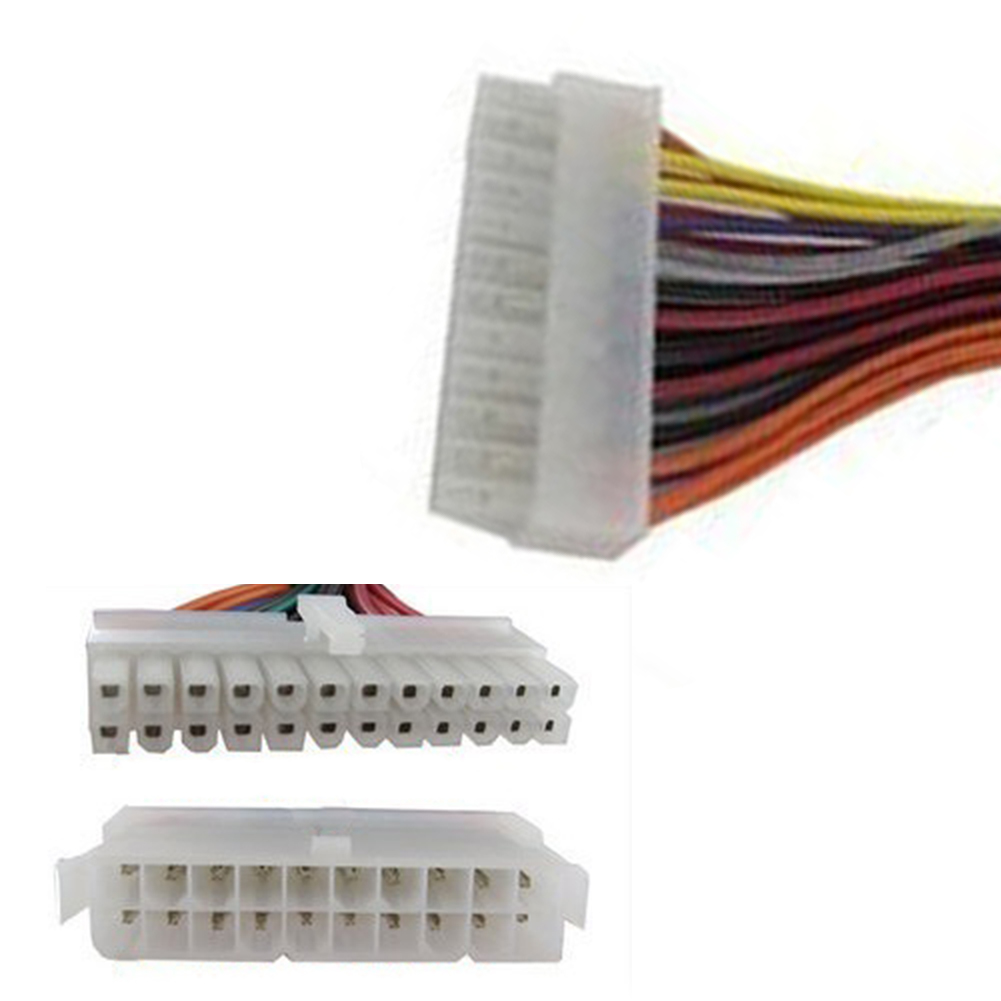 20 ATX 20 Pin Female to 24 Pin Male Internal PC PSU Power Adaptor Cable (3)