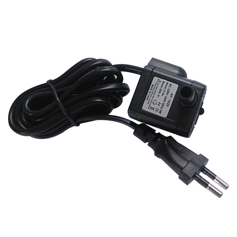 0.5m AT-1020 EU Plug Wire 220V-240V Voltage 3W Mini Small Pump / Submersible Pump