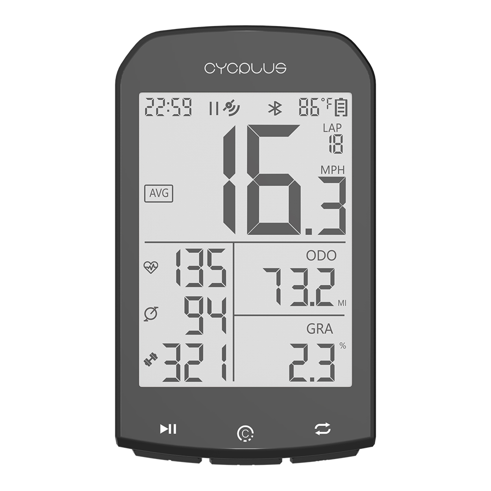 CYCPLUS M1 Bicycle <font><b>GPS</b></font> <font><b>computer</b></font> <font><b>bike</b></font> <font><b>Computer</b></font> Speedmeter wireless cycling <font><b>computer</b></font> Stopwatch image