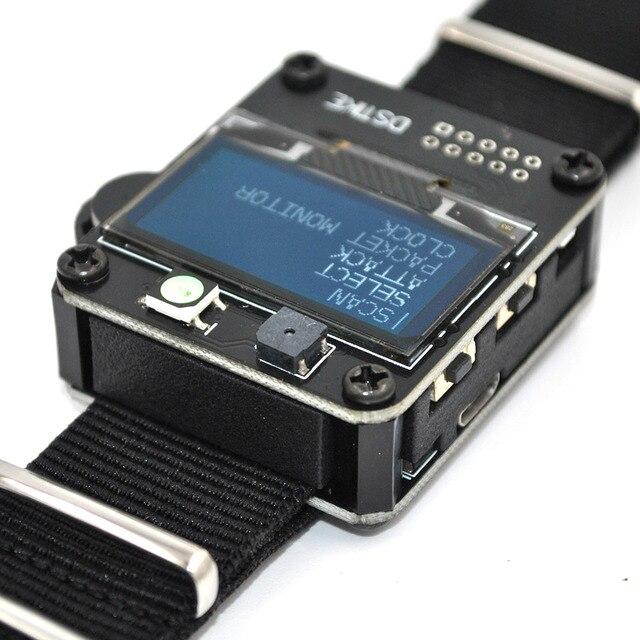 Dstike wi fi deauther relógio esp8266 placa de desenvolvimento