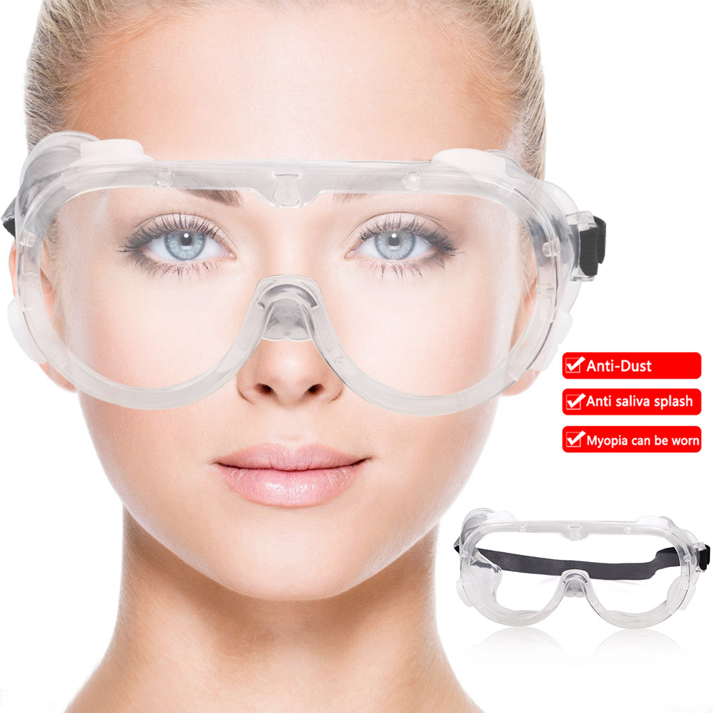 Splash Goggles Anti-dust  Work Safety Goggles Chemical Resistant Indirect Chemical Eye Protection Glasses