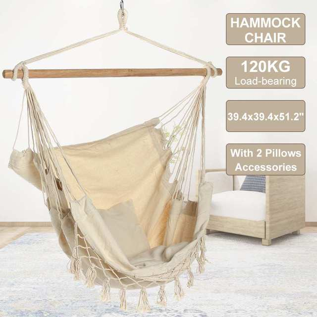 Bohemia Style Hanging Fabric Hammock  1