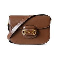Genuine Leather Handbags Women Bags Designer Casual Crossbod