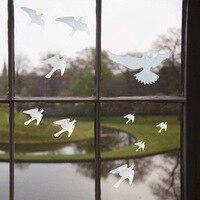 26 stück Vögel Schutz Aufkleber Vogel Anti-Kollision Fenster Alarm Decals DIY Glas Dekoration Moderne Wohnkultur