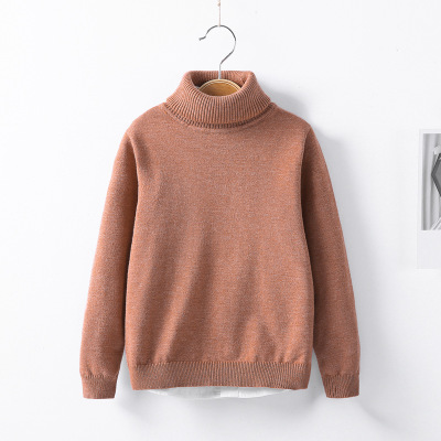 VIDMID Baby Girls boys Winter Turtleneck Sweaters Colthes Autumn Children Clothing Pullover Knitted Solid Kids Sweaters 7088 07 6