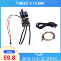 FSESC 4,12 50A на основе VESC 4,12 электрический регулятор скорости для скейтборда/Аксессуары для электронного скутера Flipsky