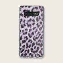 Новый прозрачный чехол для телефона samsung с леопардовым принтом
