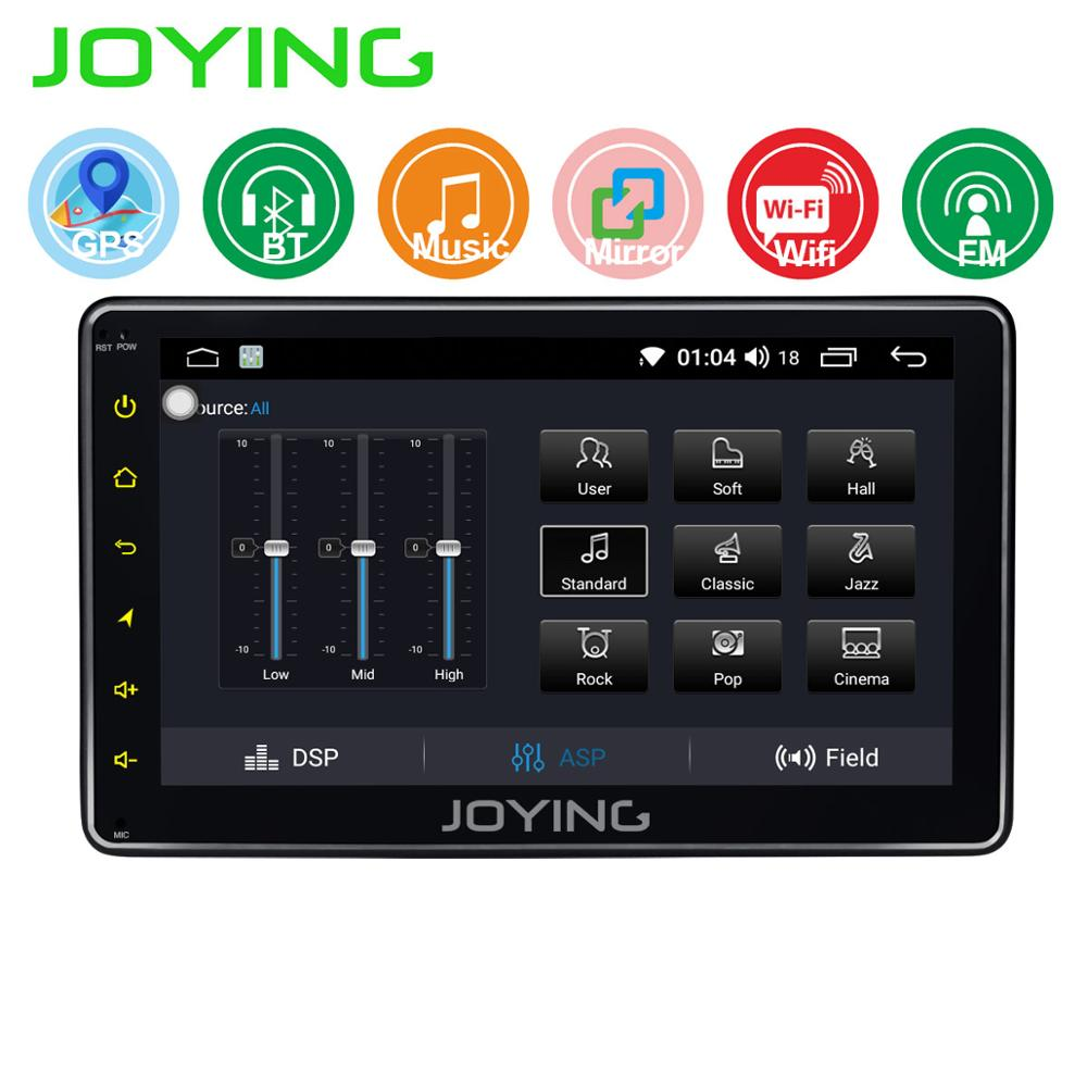Joying Universal 1 din 7 inch Quar Core Android Car Radio with Mirror Link No DVD Car Multimedia Player Autoradio BT GPS Camera image