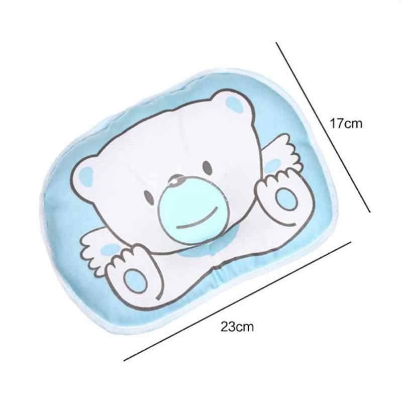 หมอนพยาบาลทารกทารกแรกเกิด Sleep สนับสนุนเว้าการ์ตูนหมอนพิมพ์ Shaping ป้องกันศีรษะแบนเตียงหมอน