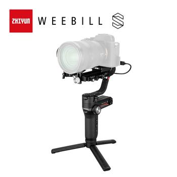 ZHIYUN Official Weebill S 3-Axis Gimbal Handheld Stabilizer Image Transmission for Canon Sony Etc Mirrorless Camera OLED Display zhiyun crane 2 dslr gimbal stabilizer 3 axis brushless handheld video camera stabilizer kit for mirrorless camera load 3200g