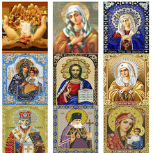 Religious pharaoh Full Icons Diamond Embroidery Diamond Painting New Square Pictures With Rhinestones Diamond Mosaic Sale Beadwo(China)
