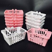 Miniature Furniture Doll-House Hand-Basket Pretend-Play-Toys Mini Supermarket Kids Model
