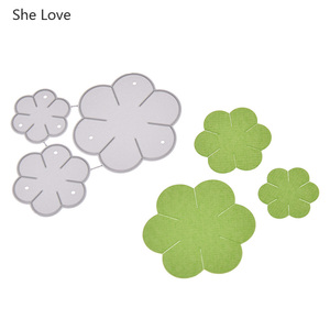 Chzimade Metal Flower Cutting Dies Stencils For Diy Scrapbooking Paper Photo Making Decorative Dies Home Decoration