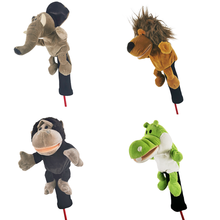 Golf club head covers, fairway wood club covers, all kinds of animal club head covers are very cute