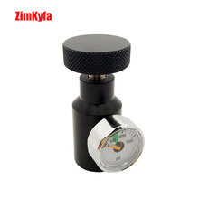 Paintball Füllen Adapter Co2 Druckluft Remote On/Off Asa Adapter w/1500psi Gauge