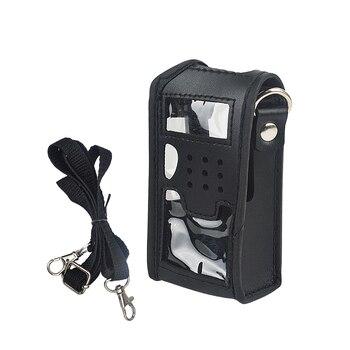 цена на baofeng UV-5R Soft Leather carrying Holder radio Holster for Baofeng walkie talkie UV-5R UV-5RA UV-5RA+ UV-5RB baofeng Acc.