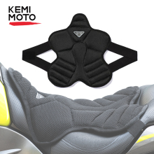KEMiMOTO Motorcycle Seat Cushion 3D Air Pad Cover For Electric Bike For F800GS For Versys 650 MT07 MT09 For Vespa Universal Moto